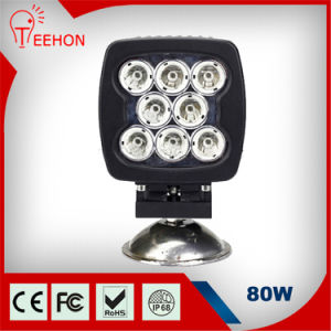 5.5in 6400lm 80W LED Work Light pictures & photos