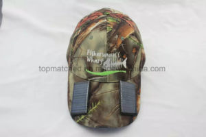 Motion Sensor USB Charging Solar Cap LED Hat for Outdoor Camping Traveling Sports pictures & photos