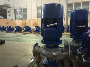 Vertical Stainless Steel Chemical Pipeline Pump pictures & photos