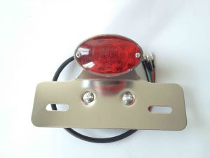 Electric Bike Scooter Tail Stop LED License Lamp with EEC