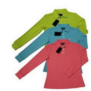 Fine Pique Cotton Spring Golf Long Shirts for Lady pictures & photos
