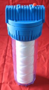 10 Inch Clear Transparent Water Filter Housing pictures & photos