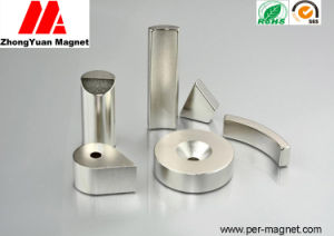 Ni Plated NdFeB Permanent Magnet for Motor Assemblies