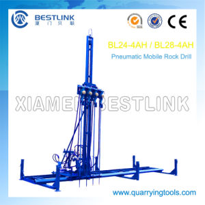 Mobile Rock Drill Horizontal Line Drilling Machine for Drilling pictures & photos