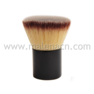 Flat Makeup Kabuki Brush with Synthetic Hair pictures & photos