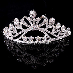 Wedding Crown Crystal Prom Party Crown Bridal Accessories Zsv011