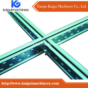 Ceiling T Bar Roll Forming Machine From Real Factory Kaigui Machinery pictures & photos