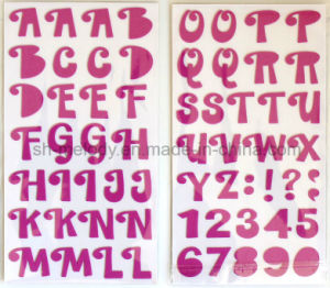 Big Alphabets Foam Stickers for Scrapbooking and Cardmaking pictures & photos