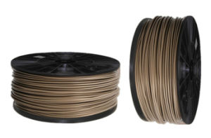 Wood Color ABS 3D Filament for Fdm 3D Printers pictures & photos