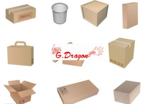 Cardboard Packing Mailing Moving Shipping Boxes Corrugated Cartons (PC020) pictures & photos