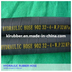 En 856 2sn Steel Wire Reinforcment Hydraulic Rubber Hose pictures & photos