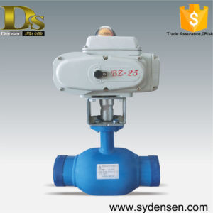Gas Oil Pipeline Use Motorized Ball Valve Dn50 pictures & photos