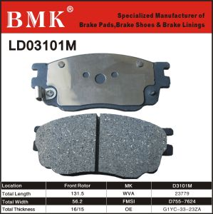 Advanced Quality Brake Pads (D3101M) pictures & photos