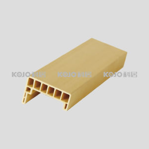 Quick Install Eco-Friendly Wooden Plastic Composite Architrave (MT-6024) pictures & photos