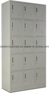 15 Door Metal Steel Iron Clothe Locker/Wardrobe/Cabinet pictures & photos