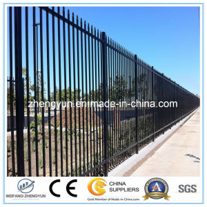 Outdoor Galvanizing Security Fence/Steel Fence pictures & photos