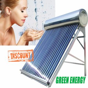 Pressurized Stainless Steel Heat Pipe Vacuum Tube Solar System Solar Hot Water Heater pictures & photos