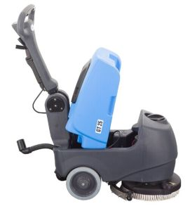 Automatic Compact Foldable Walk-Behind Cleaning Machine Scrubber Dryer with Battery pictures & photos