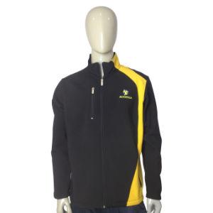 Hot Sale Pupular Men′s Sport Windproof Softshell Jacket pictures & photos