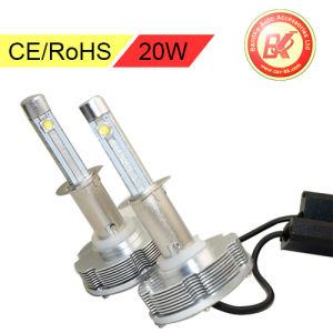 Auto CREE LED Headlight Kit Lamp 20W Bulbs H1 H3 H7