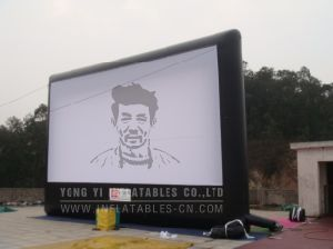 Inflatable Open Air Cinema Screen