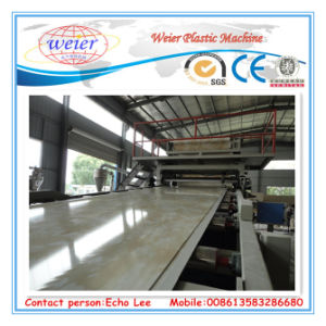 PVC Imination Marble Sheet Production Line pictures & photos