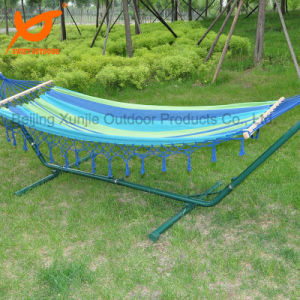 Mayan Style Handmade Fringed Hammock pictures & photos
