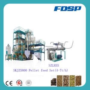Low Consumption Turkey Animal Feed Production Line pictures & photos