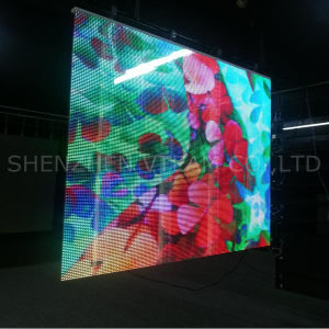 Elegant Glass LED Screen with High Transparency for Building Facade