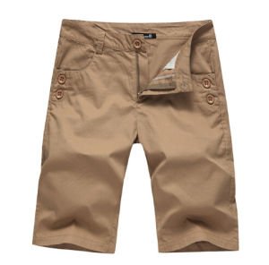 100% Soft Cotton Short Men Pants pictures & photos