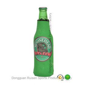 Neoprene Beer Bottle Cover with SGS Certification Zipper Closure