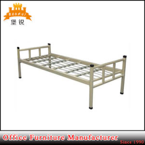 2017 Modern Shool Furniture Steel Metal Dormitory Single Bed pictures & photos