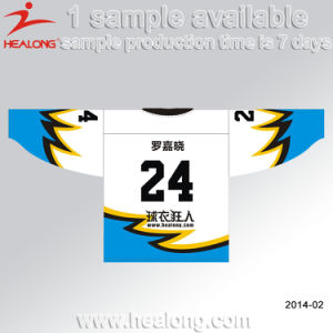 Sublimation Customized Design V Neck Ice Hockey Jersey Wear pictures & photos