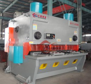 Steelseries QC11y Digital Display Hydraulic Steel Cutting Machine Guillotine, Scrap Metal Shears for Sale pictures & photos