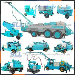 Zhengzhou Sincola Ce Dry-Wet Mix Concrete Shotcrete Machine pictures & photos