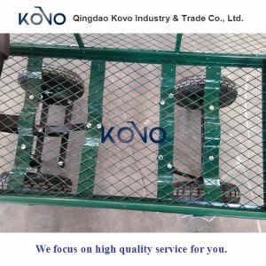 Wire Mesh Cart with New Design pictures & photos