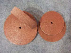 Nonwoven Unitized Wheels, Non-Woven Polishing Wheel pictures & photos