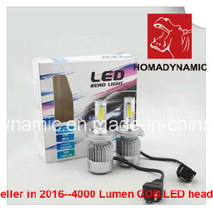 8000 Lumen COB LED Headlight H1 6000k Q2 LED Headlight pictures & photos