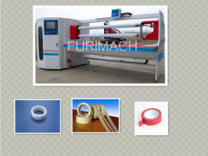 PVC Tape Roll Cutting Machine pictures & photos