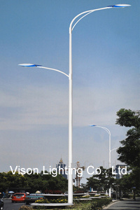 Double Arms LED Street Lighting Pole