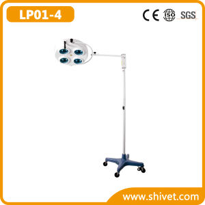 Veterinary Cold Light Operating Lamp (on stand) (LP01-4) pictures & photos