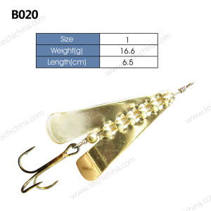Low Price Good Quality Metal Fishing Lure Spinner pictures & photos