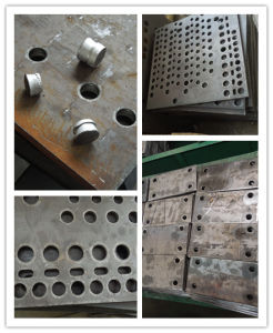 Hydraulic Plate Punching and Marking Machine pictures & photos