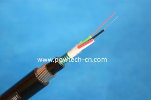 All Dielectric Self-Supporting Optical Cable/ADSS Cables24 Fibers pictures & photos