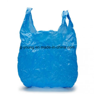 HDPE T-Shirt Disposable Plastic Shopping Packaging Bag pictures & photos