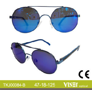 Metal Kids Sunglasses New Style Eyewear (84-A) pictures & photos