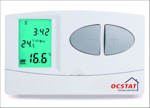LCD Room Thermostat with 7days Programmable pictures & photos