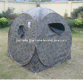 Camo Hunting Tent with 3 Windows