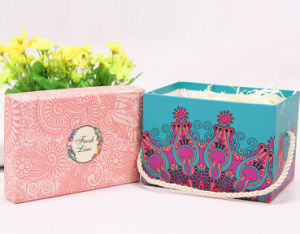 Exquisite Makeup Box with Rope Handle pictures & photos