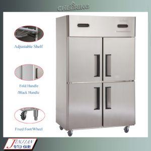China Manufacturer Double Temperature Kitchen Vertical Freezer pictures & photos